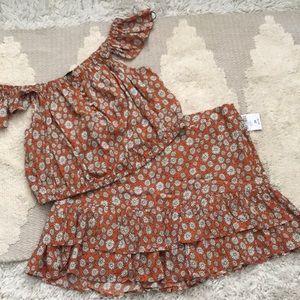 Daisy skirt set